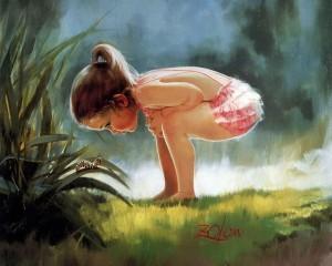Куда уходит детство? Картины Дональда Золана