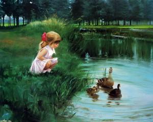 Картины Куда уходит детство? Картины Дональда Золана