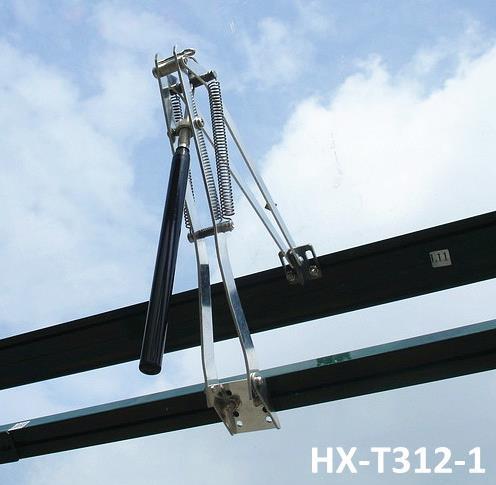 Алюминиевый автоматический открыватель форточки теплицы HX-T312
