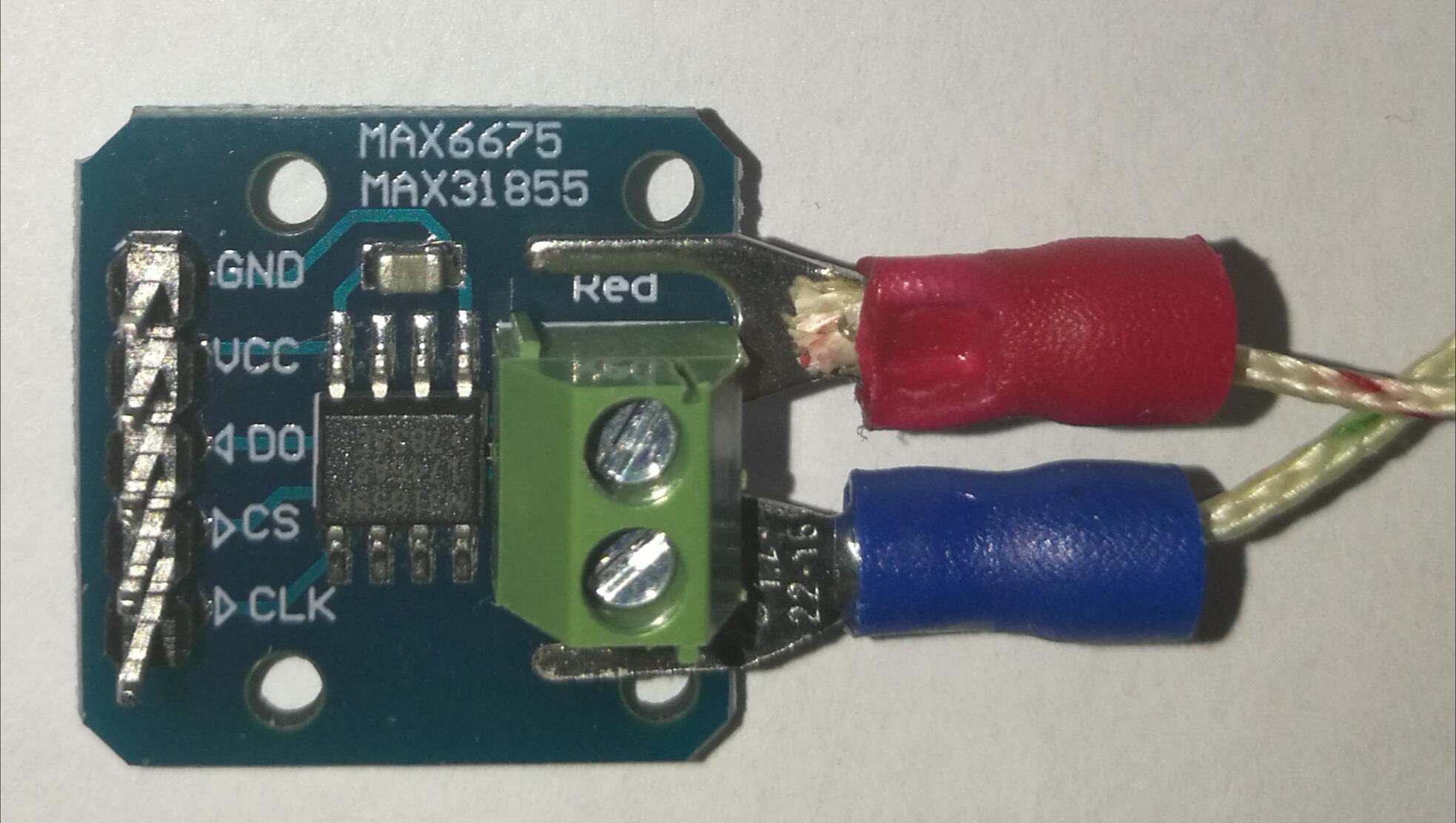 Connection of Thermocouple (K-Type) to ESP8266/ESP32/Arduino