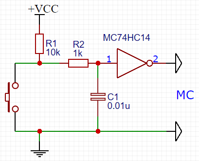 Suppression of the contact's Drebesha for the water meter (Arduino/ESP8266/EPS32)